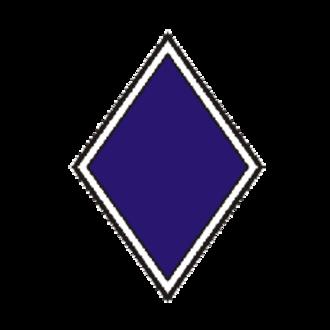 III Corps (Union Army) - Image: II Icorpsbadge