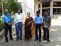 IIT Madras Wiki Academy-Facilitators at the venue.jpg
