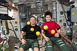 ISS-42 Terry Virts and Samantha Cristoforetti in the Unity module.jpg