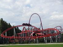 Il Launched coaster iSpeed di Mirabilandia