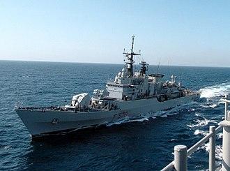Maestrale-class frigate - Image: ITS Maestrale F570