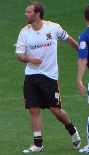 Ian Ashbee - Ashbee playing for Hull City in 2010