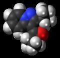 Ibudilast molecule spacefill.png