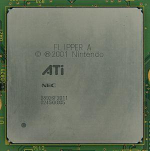 "Nintendo GameCube technical specifications - ATi ""Flipper"" processor"