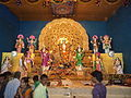 Idol of Maa Jagadhatri 2012.JPG