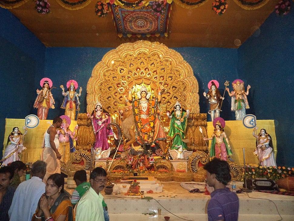 Idol of Maa Jagadhatri 2012