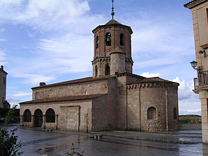 Church of San Miguel, built in the XII century.