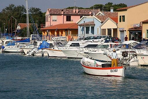 Il pescatore. Marina di Grosseto