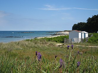 Île d'Yeu - Image: Ile d yeu plage des sapins