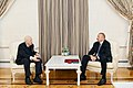Ilham Aliyev presented Labor Order 1st Class to People's Artist Tahir Salahov.jpg