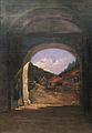 Ilie Burghele - Vedere din manastirea Agapia.jpg