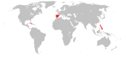 Location of Spain