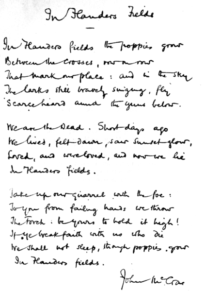 File:In Flanders fields and other poems, handwritten.png