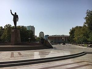 Heydar Aliyev Palace - Image: In front of Heydar Aliyev Palace