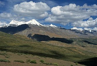 Climate of India - The formation of the Himalayas (pictured) during the Early Eocene some 52 mya was a key factor in determining India's modern-day climate; global climate and ocean chemistry may have been impacted.