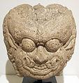 Indonesia, frammento architettonico con testa di demone, XIII-XIV sec..JPG