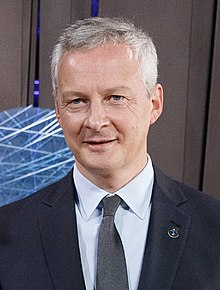Description de l'image Informal meeting of economic and financial affairs ministers (ECOFIN). Handshake, Eurogroup Toomas Tõniste and Bruno Le Maire (36840346850) (cropped).jpg.