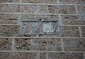 Inscripció al campanar de l'església de Sant Nicolau de València.JPG