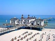 Insel Rügen-Strand von Sellin