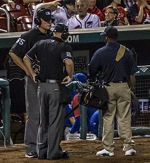 Instant replay in Major League Baseball Method for MLB officials to review on-field decisions