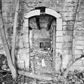 Interieur, deurpost binnenplaatszijde, westvleugel pachthof - Houthem - Sint Gerlach - 20344020 - RCE.jpg