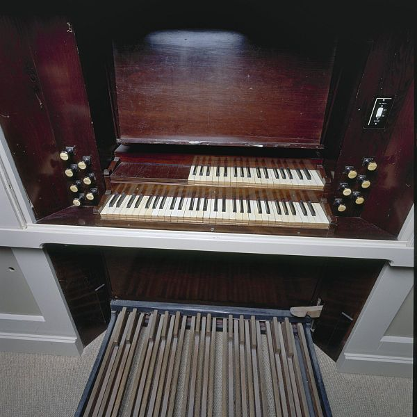 File interieur orgel detail klaviatuur met for Interieur 605