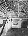 interieur grote schuur, kapconstructie - billinghuizen - 20328694 - rce
