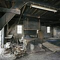Interieur smederij, overzicht stookplaats, tijdens werkzaamheden - Alblasserdam - 20371742 - RCE.jpg