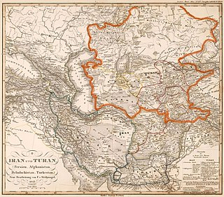 Turan region in Central Asia