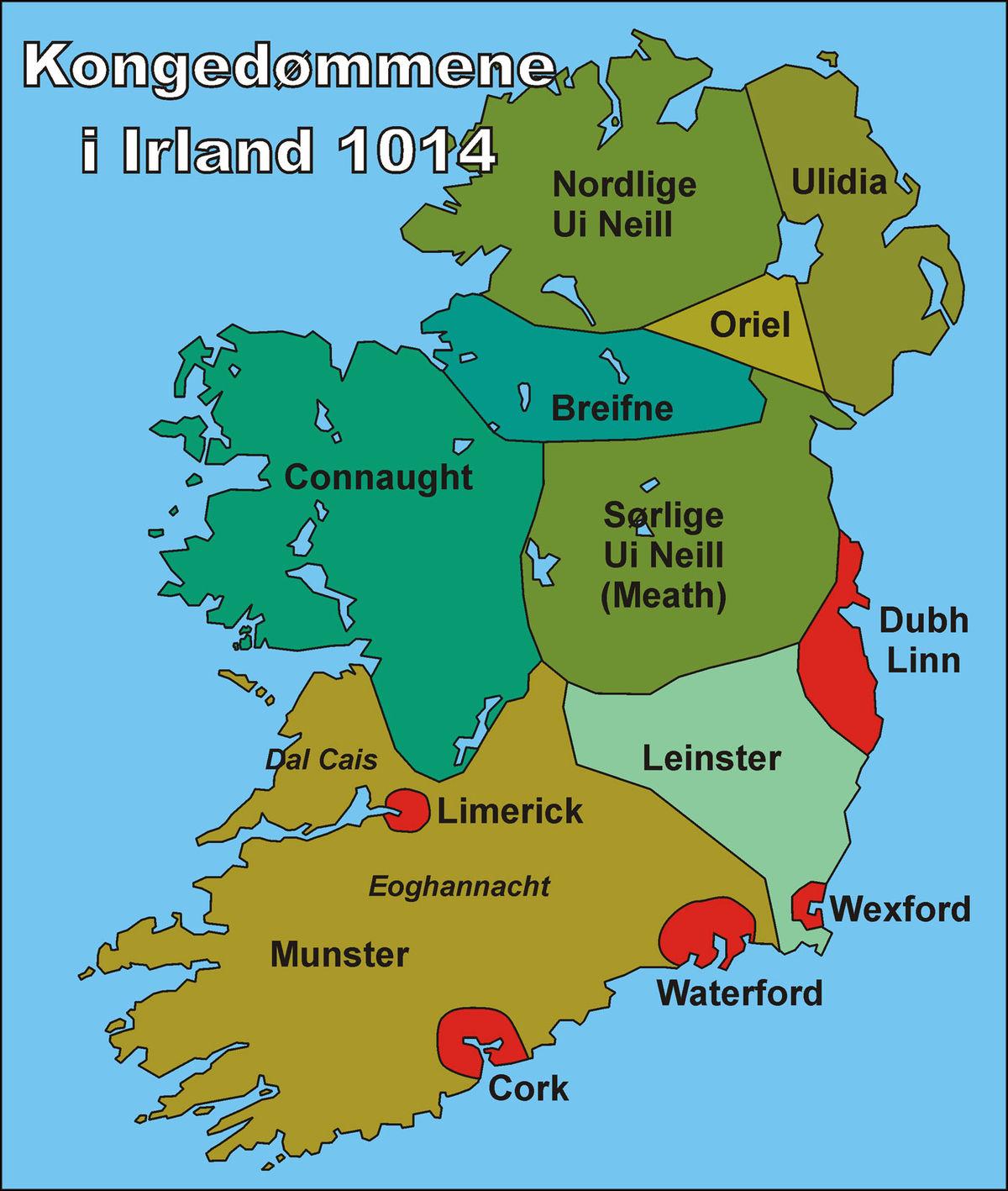 kart over irland Vikingene i Dublin – Wikipedia kart over irland