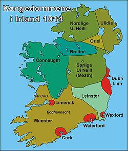 kart over england og irland Vikingene i Dublin – Wikipedia kart over england og irland