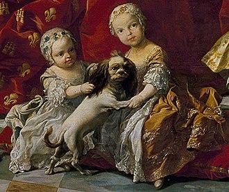 Princess Isabella of Parma - Image: Isabella di Parma and Maria Isabella di Neapoli