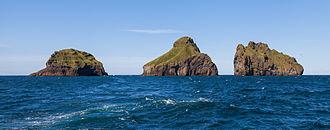 Vestmannaeyjar - Smáeyjar islands