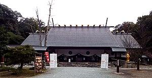 伊曽乃神社拝殿