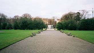 University College Dublin - The Gardens located behind Earlsfort Terrace donated and renamed in his honour by UCD in 1908
