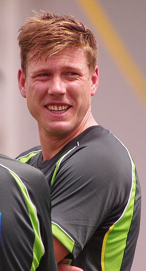 James Faulkner (cricketer) - Faulkner in 2014