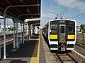 JR East Kiha E131-13 at Kami-Sugaya Station-2.jpg