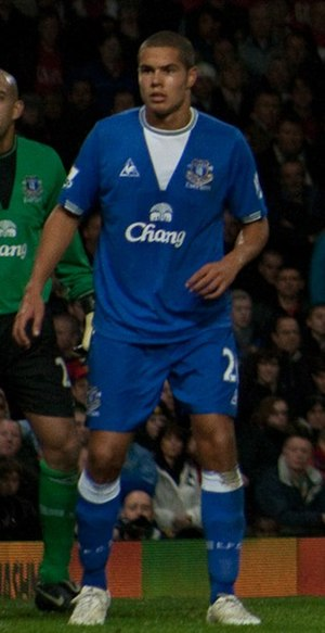 Jack Rodwell - Rodwell playing for Everton in 2009