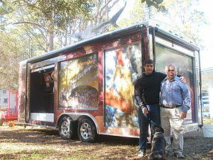 Gulf Specimen Marine Laboratory - Jack and Cypress Rudloe with the Sea Mobile