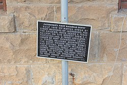 Photo of Black plaque number 15601