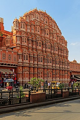 Jaipur 03-2016 27 Hawa Mahal - Palace of the Winds