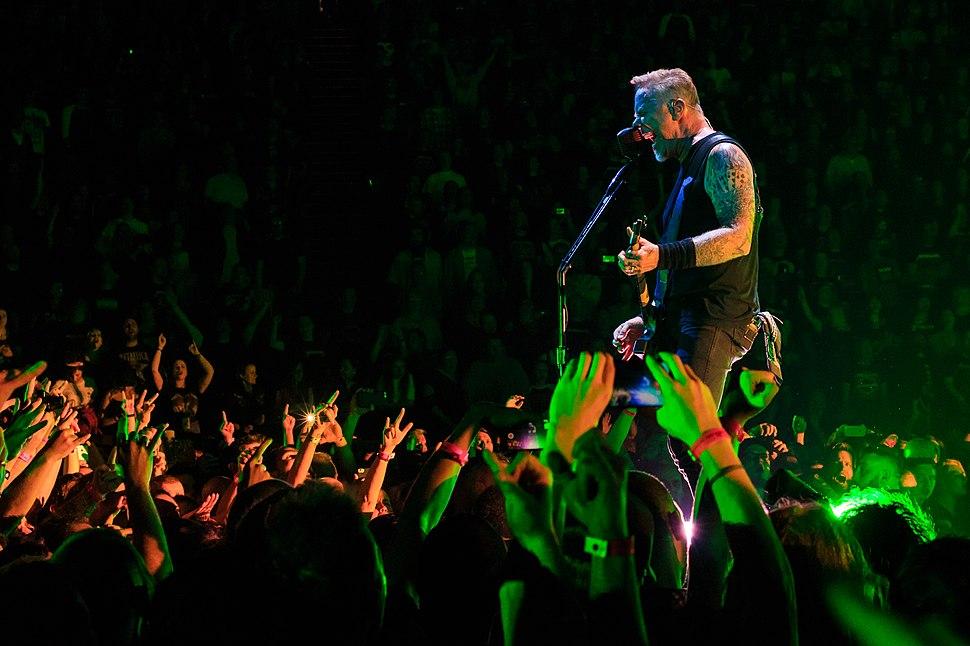 James Hetfield live in London 24 October 2017