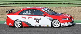 JAS Motorsport - Image: James Thompson WTCC 2008 Imola