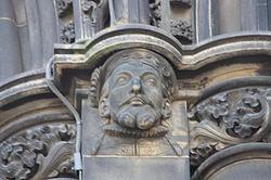 James V as appearing on the Scott Monument.JPG