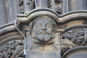 James V of Scotland - James V, on the Scott Monument