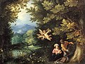 Jan Brueghel & Hans Rottenhammer - De rust op de vlucht naar Egypte.jpg