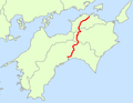 Japan National Route 32 Map.png