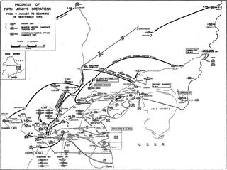 Battle of Mutanchiang 1945 Soviet-Japanese battle in Manchuria
