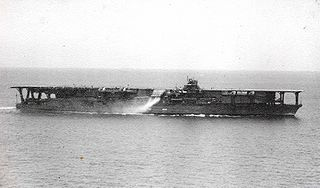 Tosa-class battleship converted to an aircraft carrier