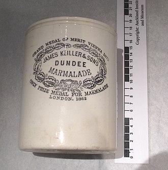 Keiller's marmalade - Keiller's marmalade jar